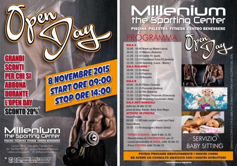 millenium open day