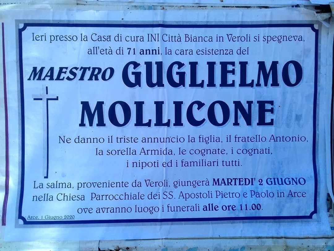 Manifesto funebre Guglielmo Mollicone-2