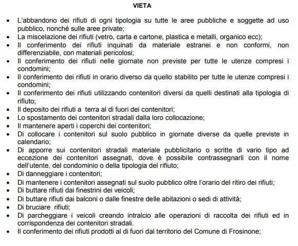 Raccolta Rifiuti Ingombranti Roma Calendario 2020.Raccolta Differenziata Fino A 500 Euro Di Multa Per I