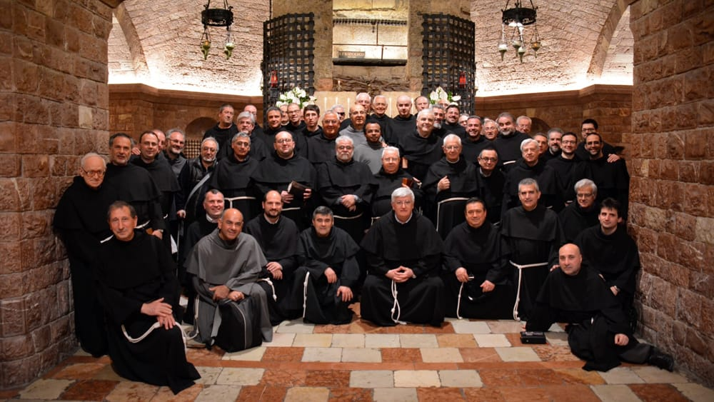 I frati in conclave ad Assisi