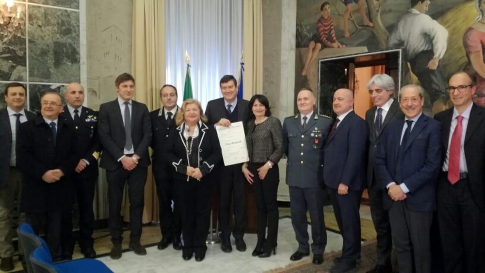 Frosinone Santarelli e le altre autorità-2