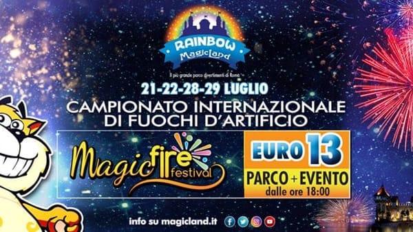 Valmontone, Magic Fire Festival