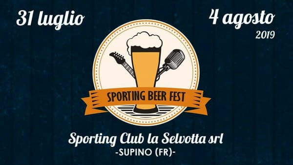 Supino, Sporting Beer Fest