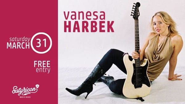 Alatri, Vanesa Harbek trio live