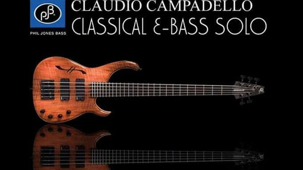 Frosinone, concerto di Claudio Campadello