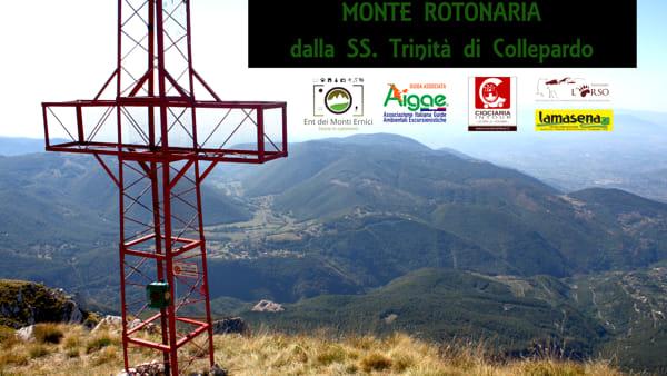 Collepardo, escursione sul monte Rotonaria