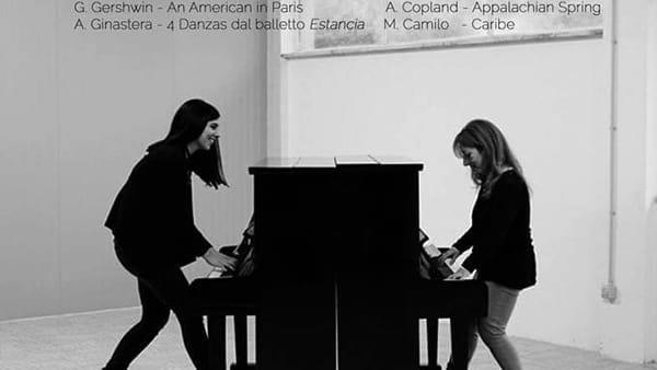 Ferentino, concerto Colli&Rubini duo