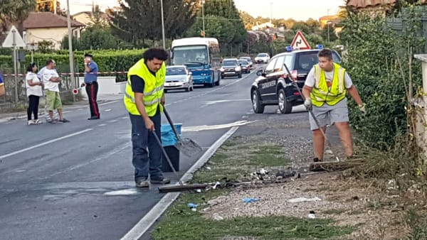 Artena Incidente via Velletri2