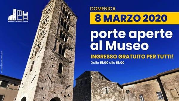 Anagni, porte aperte al Museo