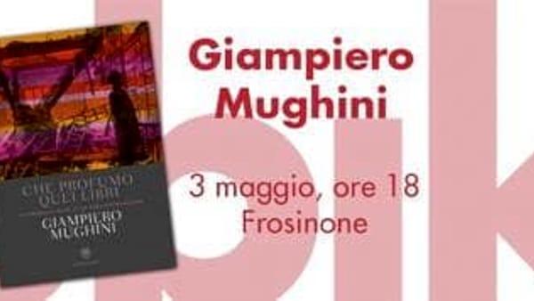 """Frosinone, Giampiero Mughini presenta """"Che profumo quei libri"""""""