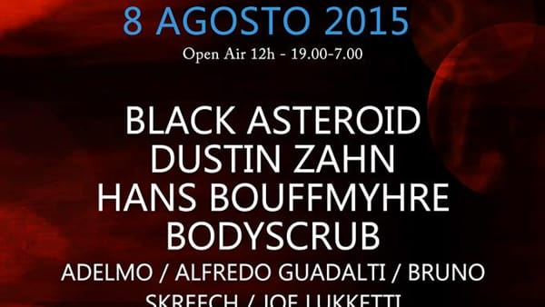 Acuto, electronic music festival 2015
