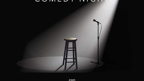 """Frosinone, """"Stand Up Comedy Night"""""""