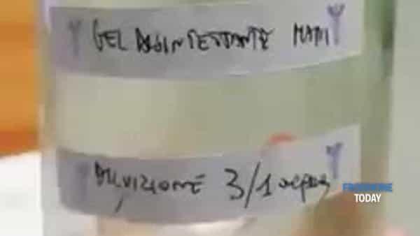 VIDEO | Gel disinfettante in barattolo 'riciclato', la denuncia dei Giovani Medici di Frosinone