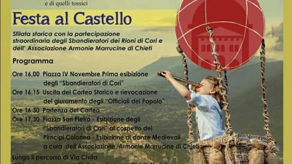 Castro dei Volsci, giornata micologica e festa al castello