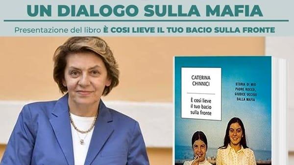"""Cassino, """"Un dialogo sulla mafia"""". Presentazione libro di Caterina Chinnici"""