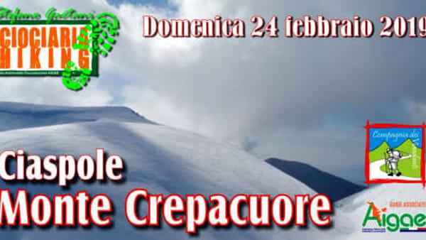 Ciaspolata sul Monte Crepacuore