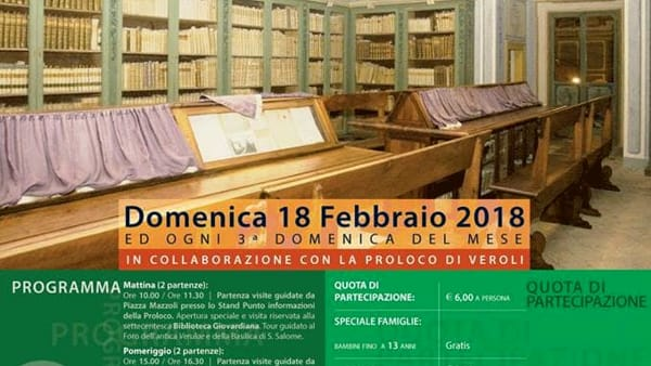 Veroli, apertura straordinaria della Biblioteca Giovardiana