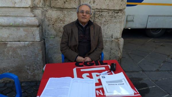 Anagni, la SPI CGIL raccoglie le firme per la legge sulla moralizzazione nella gestione degli appalti pubblici