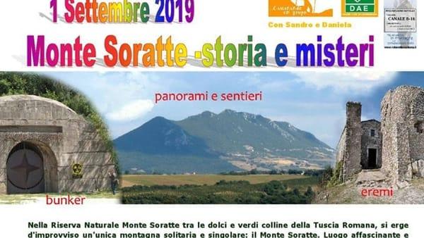 Escursione sul Monte Soratte tra storia e misteri