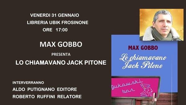"""Frosinone, presentazione del libro """"Lo chiamavano Jack Pitone"""""""