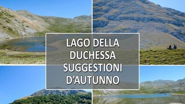 Lago della Duchessa, suggestioni d'autunno