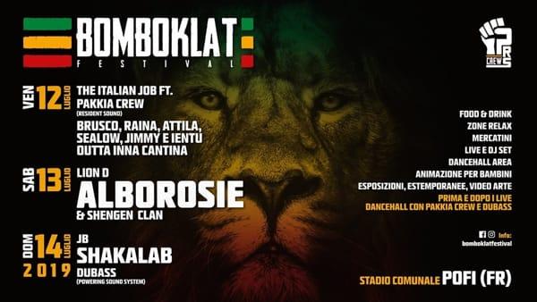 Pofi, BomboKlat Festival 2019