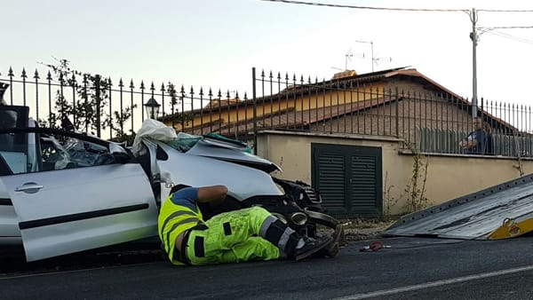 Artena Incidente via Velletri7
