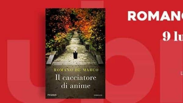 """Frosinone, Romano De Marco presenta """"Il cacciatore di anime"""""""