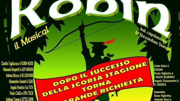 "San Cesareo, torna in scena ""Robin Hood - il musical"""