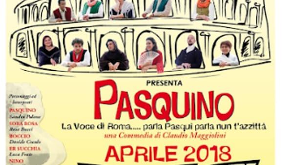 """Colleferro, in scena """"Pasquino"""""""
