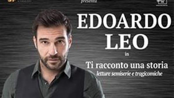 """Frosinone, in scena Edoardo Leo con """"Ti racconto una storia"""""""