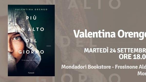 """Frosinone, Valentina Orengo presenta  """"Piu' in alto del giorno"""""""