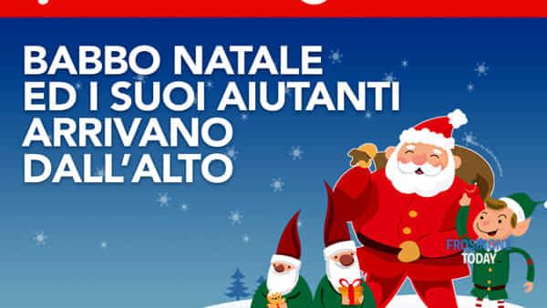 Alatri, Santa Claus, gnomi ed elfi acrobatici