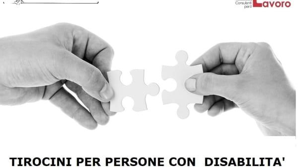Tirocini per persone con disabilità