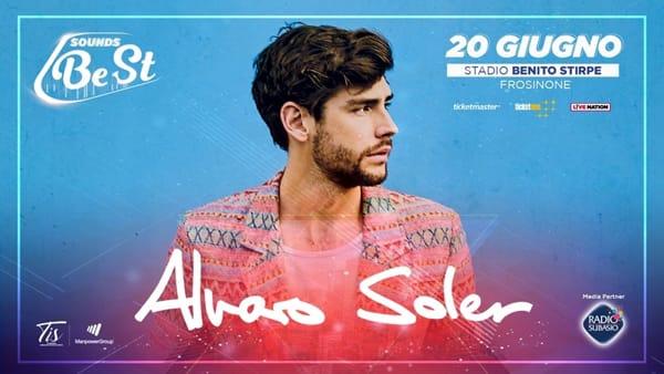 Frosinone, Alvaro Soler in concerto