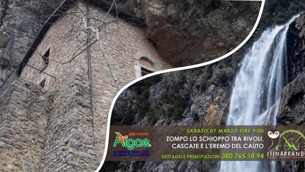Zompo lo Schioppo tra rivoli, cascate e l'eremo del Caùto