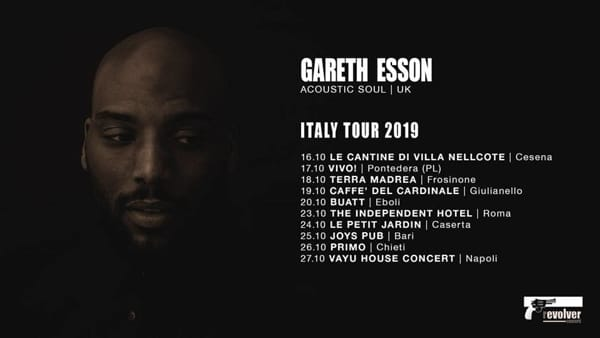 Frosinone, Gareth Esson in concerto