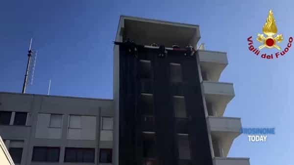 VIDEO | I vigili del fuoco di Frosinone celebrano Santa Barbara