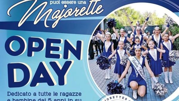Boville, porte aperte verso il mondo delle majorettes