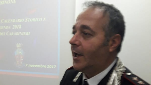 Scomparsa Capirchio, gli aggiornamenti del colonnello Fabio Cagnazzo, comandante provinciale dei Carabinieri