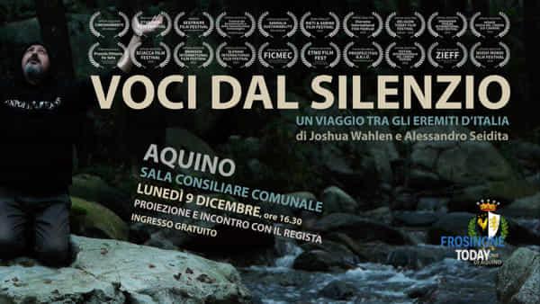 """Aquino, """"Voci dal silenzio: un viaggio tra gli eremiti d'italia"""""""