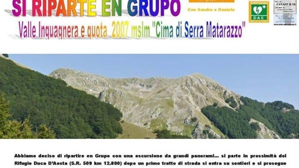 Escursione nella valle Inguagnera e Cima di Serra
