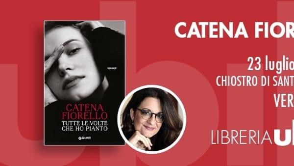 """Veroli, Catena Fiorello presenta """"Tutte le volte che ho pianto"""""""