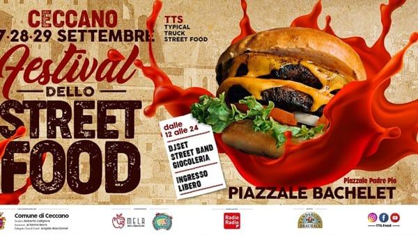 Ceccano, festival dello street food