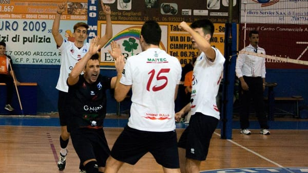 Volley, Marino in zona play off, grande vittoria a Olbia
