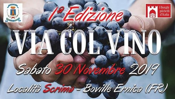 Boville Ernica, via col vino