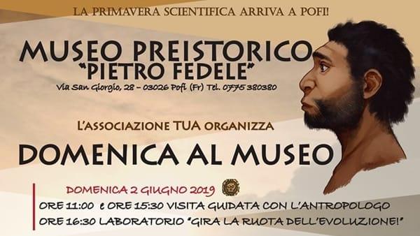 """Pofi, domenica al Museo """"Pietro Fedele"""""""