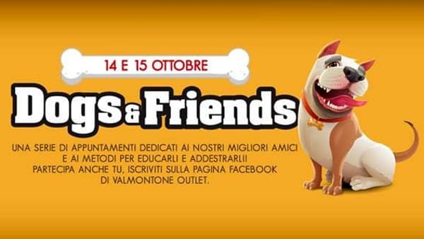Valmontone, dog & friends all'outlet