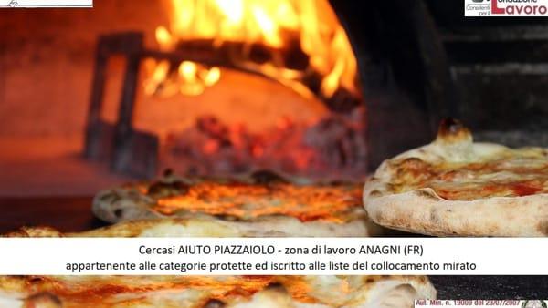 Anagni, offerta di lavoro aiuto pizzaiolo