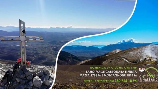 Escursione i in Val Carbonara, Punta Mazza e Montagnone